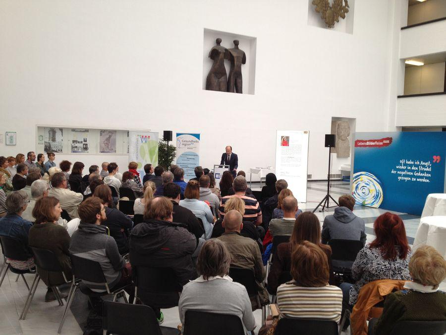 Eröffnung Ausstellung LebensBilderReise